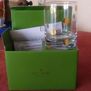Kate Spade/ Lenox crystal glasses